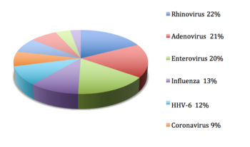 HHV-6 identified in 12% of simple and 42% of complex